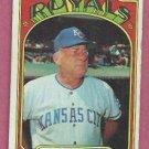 1972 Topps Bob Lemon Kansas City Royals # 449 VG