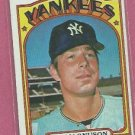 1972 Topps Jim Magnuson New York Yankees # 597 VG