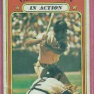 1972 Topps Ollie Brown In Action Oakland A's # 552 VG