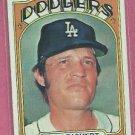 1972 Topps Pete Richert Los Angeles Dodgers # 649 VG