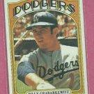 1972 Topps Billy Grabarkewitz Los Angeles Dodgers # 578 VG