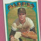1972 Topps Fred Kendall San Diego Padres # 532 VG