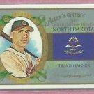 2008 Topps Allen & Ginters Travis Hafner North Dakota Cleveland Indians # US34