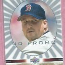 2003 Upper Deck Game Face PROMO Derek Lowe Boston Red Sox # 20