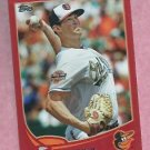 2013 Topps Baseball Target Red Brian Matusz Baltimore Orioles # 217