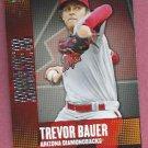 2013 Topps Baseball Chasing The Dream Trevor Bauer Arizona Diamondbacks # CD-4