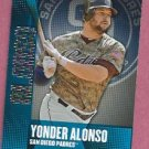 2013 Topps Baseball Chasing The Dream Yonder Alonso San Diego Padres # CD-16