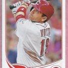 2013 Topps Baseball Joey Votto Cincinnati Reds # 19