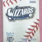 2008 Fort Wayne Wizards Pocket Schedule