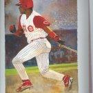 Barry Larkin # 11 Number Retirement Picture & Original Envelope SGA Cincinnati Reds