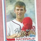 2013 Topps Archives Bryce Harper Washington Nationals #  100