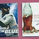 2013 Los Angeles Dodgers Pocket Schedule Coke