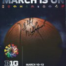 2011 Big 10 Basketball Tournament Program William Buford Autograph Ohio State