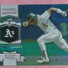 2013 Topps Baseball Series 2 Chasing History Rickey Henderson Oakland A's # CH-58