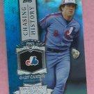 2013 Topps Baseball Series 2 Chasing History Gary Carter Montreal Expos # CH-65