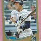 2013 Topps Baseball Series 2 Derek Jeter GOLD New York Yankees # 373 / 2013