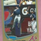 2013 Topps Baseball Series 2 Michael Bourn GOLD Atlanta Braves # 540 /2013