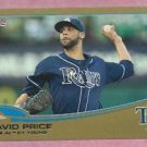 2013 Topps Baseball Series 2 David Price GOLD Tampa Bay Rays # 627 /2013