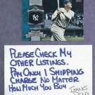 2013 Topps Babe Ruth Chasing History New York Yankees # CH-11
