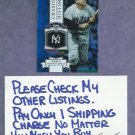 2013 Topps Yogi Berra Chasing History New York Yankees # CH-5 Silver Foil Variation