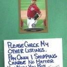 2013 Bowman Gold Stephen Strasburg Washington Nationals # 104