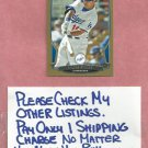 2013 Bowman Gold Andre Ethier Los Angeles Dodgers # 213