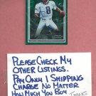 1998 Donruss Game Plan Mark Brunell Jacksonville Jaguars #4 #D 707/5000