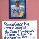 1992 Classic Games Eric Davis Dodgers Reds # 161 Oddball