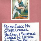 1989 Topps Robin Yount Milwaukee Brewers # 615