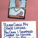 1987 Donruss Rick Sutcliffe Chicago Cubs # 68