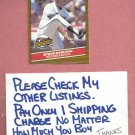 1986 Donruss Highlights Steve Carlton Giants # 35 Oddball