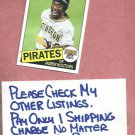 2013 Topps Archives Andrew McCutchen Pittsburgh Pirates # 101