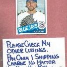2013 Topps Archives RA Dickey Toronto Blue Jays # 122