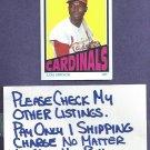 2013 Topps Archives Lou Brock St Louis Cardinals # 728LB Retro 72