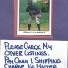 2008 Topps Brandon Jones Atlanta Braves Rookie # 126