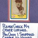 1990 Swell Baseball Greats Bob Feller Cleveland Indians # 60 Oddball