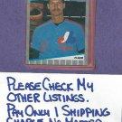 1989 Fleer Randy Johnson Seattle Mariners Rookie # 381