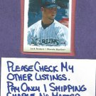 2003 Playoff Portraits Josh Beckett Florida Marlins # 63 #D /250