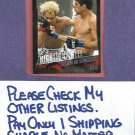 2010 Topps UFC Thiago VS Koscheck # 184