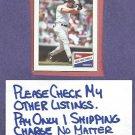 1988 Topps Bazooka Don Mattingly New York Yankees Dodgers Oddball # 11