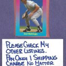 1989 Classic Games Light Blue Don Mattingly New York Yankees Oddball # 5