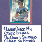 1987 Fleer Don Mattingly New York Yankees Dodgers # 104