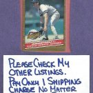 1986 Donruss Highlights Don Mattingly New York Yankees Oddball # 48