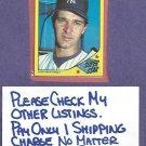 1986 Topps Collectors Series Super Star Don Mattingly New York Yankees Oddball # 20