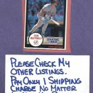 1990 Starting Line Up Don Mattingly New York Yankees Oddball
