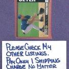 1994 Upper Deck Collectors Choice Future Foundation Derek Jeter New York Yankees # 644 Rookie