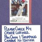2001 Topps Gallery Fusion Ken Griffey Jr Cincinnati Reds # 138