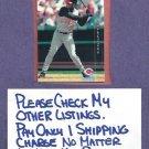 2001 Topps HD Ken Griffey Jr Cincinnati Reds # 89