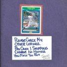 1990 Score Rising Star Sammy Sosa White Sox Cubs # 35 Rookie