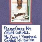 1989 Upper Deck Sandy Alomar Jr Padres Indians Rookie # 5